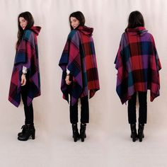 HOODED PONCHO - Google Search