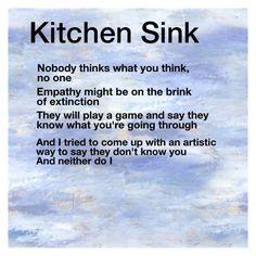 Kitchen Sink Lyrics Art twenty øne piløts // kitchen sink   tøp -/   pinterest   sinks