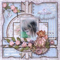 Spring - Maja Design Mood Board - Scrapbook.com