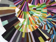 Modern Mood Quilt detail by daintytime, via Flickr