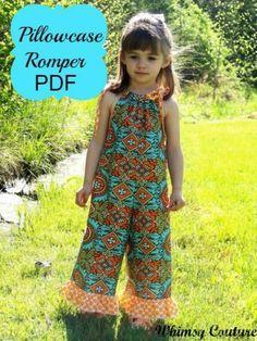 Pillowcase Romper PDF Sewing Pattern