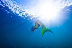Ariel, Mermaid School by Freedive UK