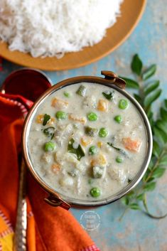 Lip-smacking delicious and gorgeous side dish Vellai Kurma recipe with detailed recipe with step-wise pictures. Hotel style Vellai Kurma or White Kurma. Coconut Chutney, Coconut Curry, Kurma Recipe, Best Side Dishes, Chapati, Mixed Vegetables, Fennel Seeds, Curry Leaves, Pressure Cooking