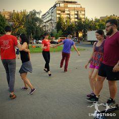 swing en plazas de Santiago de Chile