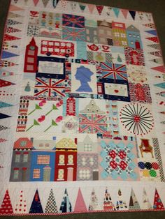 Freda's Hive: London 2012 - Most amazing quilt I've ever seen.