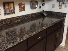 Granite Look Great Shiny Finish New Backsplash Next Project Barbara Sampson Giani Paint For Countertops