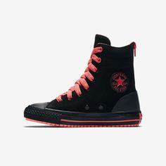 749d00e374dd Converse Chuck Taylor All Star Hi Rise Boot Fashion Leather Little Big Kids   Boot