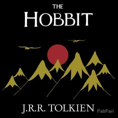 """""""The Hobbit - Book Cover"""" T-Shirts & Hoodies by FabFari 