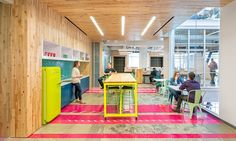 capital one labs  |  workplace design  {san francisco by o+a} #commercialdesign #workplace #interiordesign