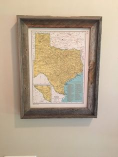 Original Map Of Florida And Alabama Vintage Alabama Map - Vintage texas map framed