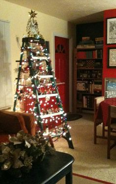 30 best holiday ladders images ladder ladders staircases rh pinterest com