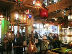 Restaurant Bazar, Witte de Withstraat, Rotterdam One of my favorites