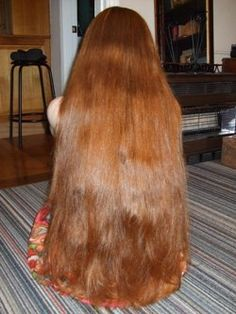 I want to grow my hair this long.