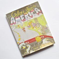 1985 Gahan Wilson's AMERICA by Gahan Wilson Hardcover, Dust Jacket ~B4