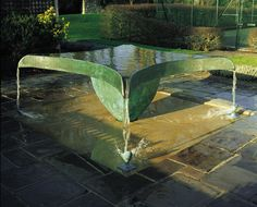 Spillway - another wonderful water sculpture by William Pye.