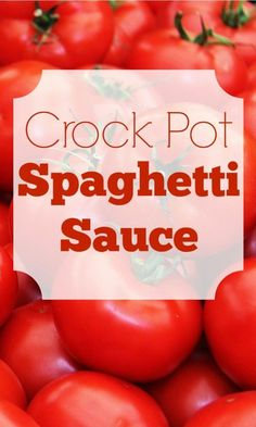 This spaghetti sauce is so fresh and delicious, you'll never want to buy jarred sauce again.  You'll love this healthier, tastier sauce!