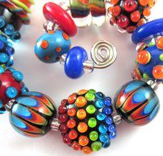 Light Bright Lampwork Bead Set