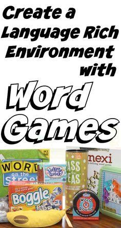 Create a Language Rich Environment in Your Homeschool with Word Games from Walking by the Way