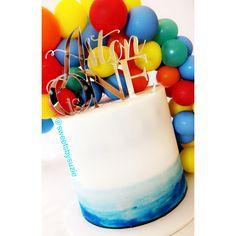 Fun Boys First Birthday Cake made by Sweetsbysuzie in Melbourne