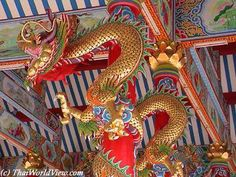 Thai Calendar > Chinese New Year - page Chinese Artwork, Year Of The Dragon, Chinese Dragon, Chinese New Year, Bangkok, Statues, Dragons, Sculptures, Pottery