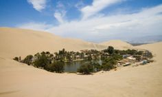 In vacanza nell'oasi Huacachina