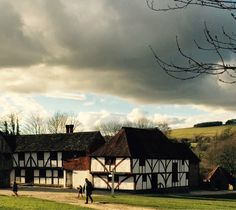 Weald and Downland Open Air museum in Sussex February 2015