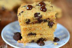 Paleo Dessert, Healthy Desserts, Dessert Recipes, Paleo Treats, Healthy Food, Paleo Cookies, Dessert Bars, Healthy Cooking, Yummy Treats
