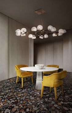 Pantone 2021: Yellow and Grey Colour Trends Agra, Luxury Dining Chair, Modern Dining Chairs, Dining Room Colors, Dining Room Design, Dining Rooms, Contemporary Home Furniture, Luxury Furniture, Bespoke Furniture