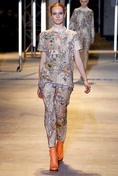 Cacharel Fall 2011 Ready-to-Wear Fashion Show - Chantal Stafford-Abbott