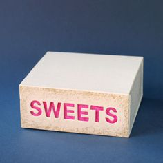 DIY box for your sweets by momentstolivefor