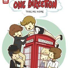 Y...¿Cómo se ve One Direction en caricatura?   Hollywood Style