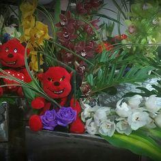 Σύνθεση λουλουδιών για τους απαιτητικούς