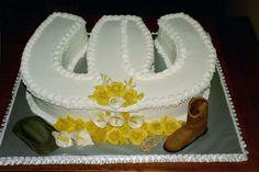 Western Bride's Cake  on Cake Central