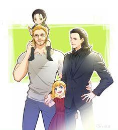 Thorki family ♡