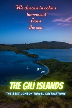 The Gili Islands are a group of 3 tiny islands – Gili Trawangan, Gili Meno and Gili Air – in Indonesia, near the coast of northwest Lombok Island. Characterized by sandy beaches fringed with palm trees, they're known for their coral reefs just offshore. . #lombok #indonesia #travel #traveling #giliislands #island #nature #bucketlist Travel Images, Travel Pictures, Travel Deals, Travel Tips, Adventure Time, Adventure Travel, Places To Travel, Travel Destinations, Gili Air