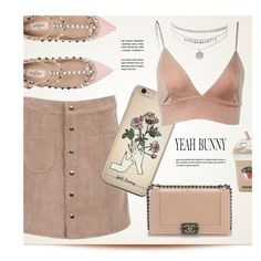 Yeah-Bunny.com by monmondefou on Polyvore featuring polyvore, moda, style, Valentino, Chanel, Yeah Bunny, fashion and clothing