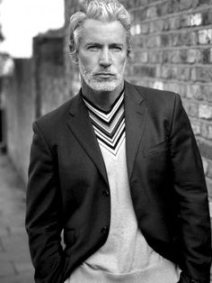 Aiden Shaw- the perfect look for my character The Good? Sharp Dressed Man, Well Dressed Men, Silver Foxes Men, Aiden Shaw, What Men Want, Mature Men, Older Men, Classic Man, Good Looking Men