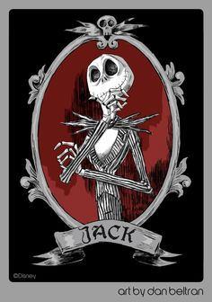 *JACK SKELLINGTON ~ Nightmare Before Christmas, 1993