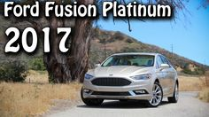 2017 Ford Fusion Platinum 6-Speed Automatic