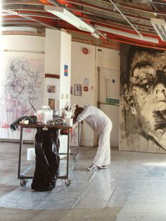 Jenny Saville - extract from Sanctuary (Britain's Artists and their Studios)