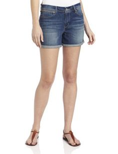 Levi's Women's Rolled 5 Pocket Short   Love yourself