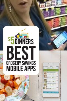 to save some money on your next trip to the grocery store? We've got a list of the best grocery savings mobile apps! Best Cooking Apps, Cooking Games, Make Ahead Freezer Meals, Back To School Hacks, Frugal Tips, Mobile App, Saving Money, Meal Planning, How To Plan