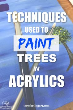 Learn about tree painting with acrylics. How to mix greens for trees. How to shade and highlight your trees. Canvas Painting Tutorials, Acrylic Painting For Beginners, Simple Acrylic Paintings, Watercolor Landscape Paintings, Acrylic Painting Techniques, Landscape Drawings, Beginner Painting, Watercolour, Landscapes