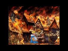 The Great Fire of London - a fun poem for kids