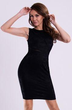 Een eenvoudige mouwloze jurk