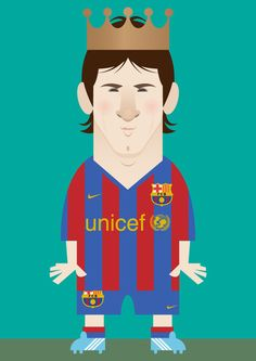 Messi Illustration by Stanley Chow Manchester City, Manchester United, Lionel Messi, Messi 10, National Football Teams, Football Art, Football Posters, Ronaldo Football, Soccer Art