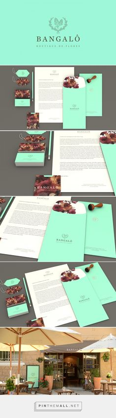 Bangalô Boutique de Flores Branding on Behance | Fivestar Branding – Design and Branding Agency & Inspiration Gallery