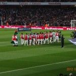 A big part of English life is football! This pic was taken by Out There Global correspondent Travel Chapters at Emirates Stadium - Arsenal's home ground. It was a British Premier League match between Arsenal and Wigan Athletic. For a full list of sporting packages in England visit the Out There Global shop