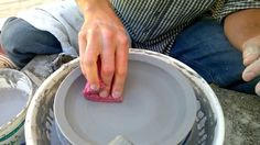 Easy Way to Throw a Plate on the Pottery Wheel