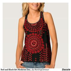 Red and Black Art Moderne Design